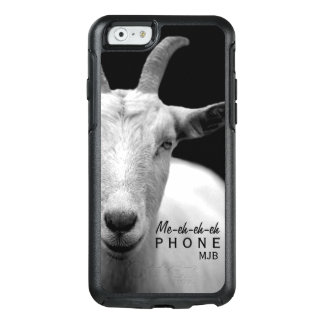"Funny Goat Animal Sound ""My Phone"" monogram OtterBox iPhone 6/6s Case"