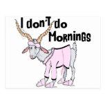Funny Goat Apparel Postcard