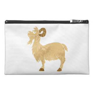 funny Goat cartoon. Travel Accessories Bags