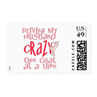 Funny Goat Design for Women Postage Stamp