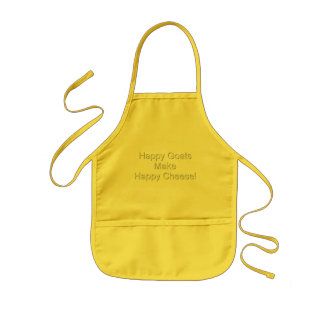 Funny Goat Happy Cheese Aprons