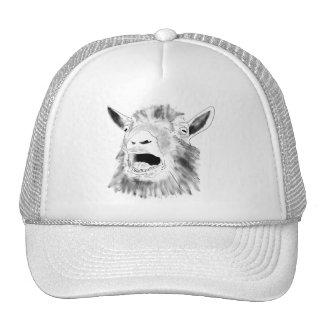 Funny goat novelty art hat