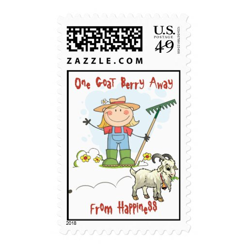 Funny Goat Postage