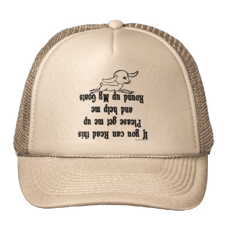 Funny Goat Sayings Mesh Hats