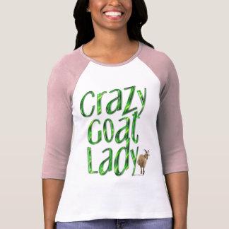 Funny Goat Shirt Crazy Goat Lady4