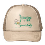 Funny Goat Shirt Crazy Goat Lady 1 Trucker Hats