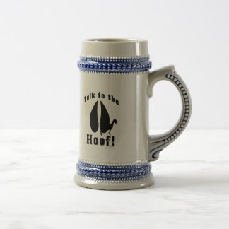 Funny Goat Talk to the Hoof Beer Stein
