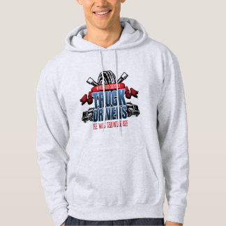 Funny God Created Truck Drivers Hoodie