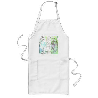 Funny Goddess Embrace Your Curves Long Apron