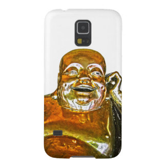 Funny Golden Laughing Buddha Galaxy S5 Case