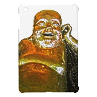 Funny Golden Laughing Buddha iPad Mini Case