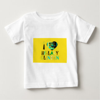 Funny Golden lovey Amazing Hope Hillary for USA Co Baby T-Shirt