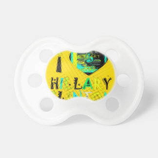 Funny Golden lovey Amazing Hope Hillary for USA Co Pacifier