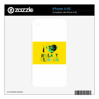 Funny Golden lovey Amazing Hope Hillary for USA Co Skins For The iPhone 4S