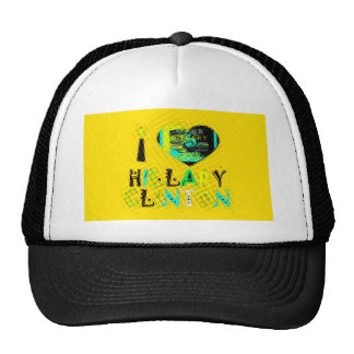 Funny Golden lovey Amazing Hope Hillary for USA Co Trucker Hat