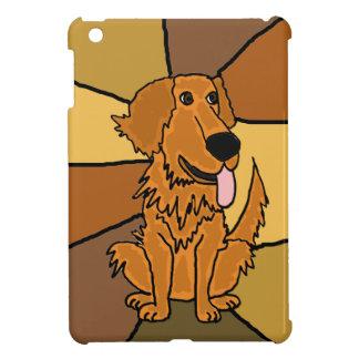 Funny Golden Retriever Dog Art Case For The iPad Mini