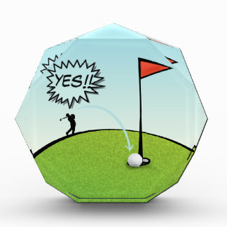 FUNNY GOLF BALL HOLE IN ONE, GOLFER GIFT
