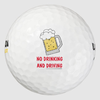 Funny Golf Ball Novelty