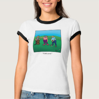 "Funny Golf ""Cattle Prod"" Humor Tee Shirt"