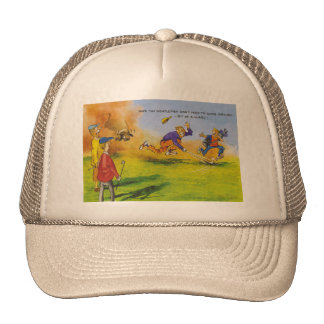 Funny golf chase hats