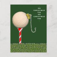 funny golf Christmas card
