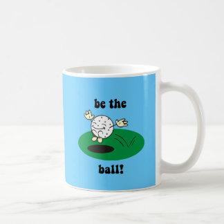 Funny golf coffee mug