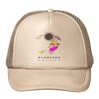 Funny Golf | Funny Cartoon Golf Mesh Hats