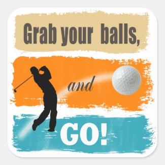 Funny Golf Grab Your Balls