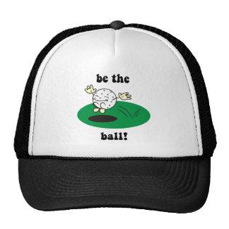 Funny golf trucker hats