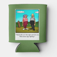 Funny Golf Humor Beer Cosy Can Cooler