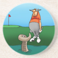Funny  Golf Humor Coaster Gift