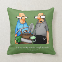 Funny Golf Humor Pillow For Golfers