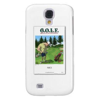 Funny golf image galaxy s4 case