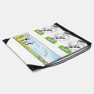Funny Golf Joke Drawstring Bag