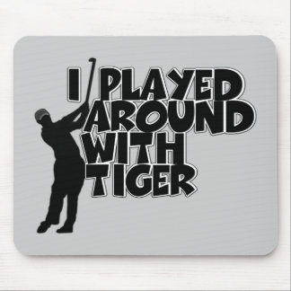 Funny golf mouse pad