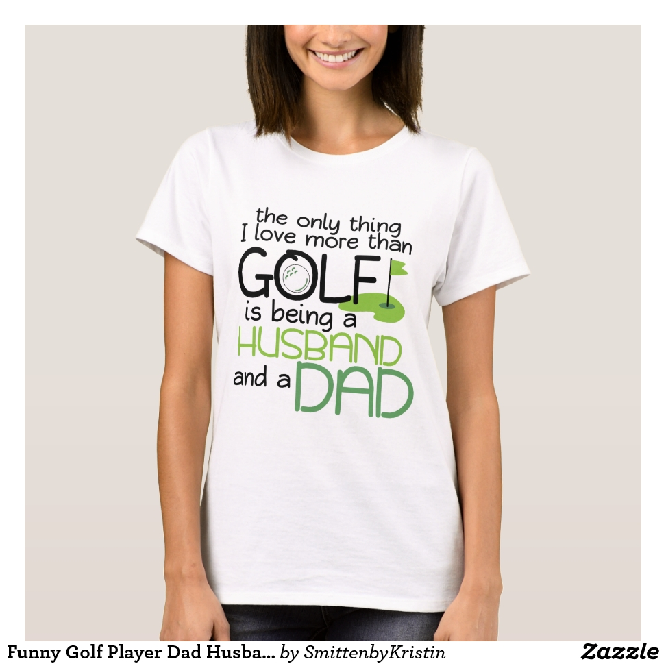 Funny Golf Player Dad Husband Fathers Day  Men T-Shirt - Best Selling Long-Sleeve Street Fashion Shirt Designs