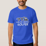 Funny golf player t shirt | World's Okayest Golfer