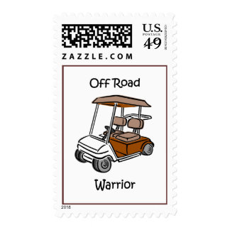 Funny golf stamps