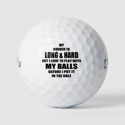 Funny Golf Quotes Delectable Funny Golf Terms Golf Balls Zazzle