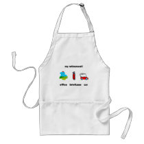 Funny golf retirement adult apron
