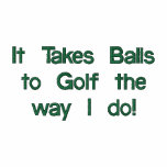 Funny Golf Shirt, Embroidered Polo Shirt