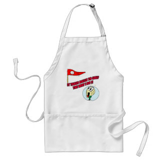 Funny Golf T-shirts Gifts Adult Apron