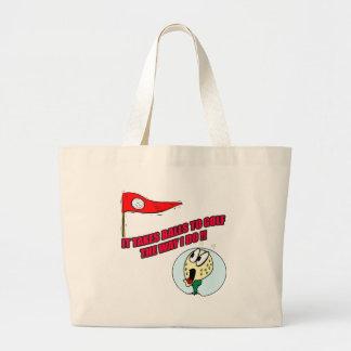 Funny Golf T-shirts Gifts Jumbo Tote Bag