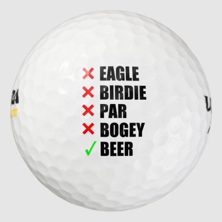 Funny Golf Terms Golf Balls | 323538