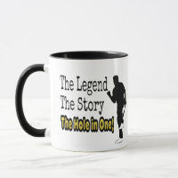Funny Golf The Legend The Story The Hole in One Mug
