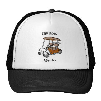 Funny golf trucker hat
