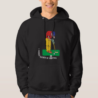 Funny Golfing Dad Father's Day Hoodie