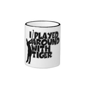 Funny golfing mug