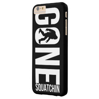 Funny Gone Squatchin Barely There iPhone 6 Plus Case