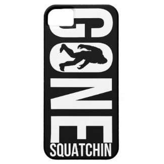 Funny Gone Squatchin iPhone 5 Covers